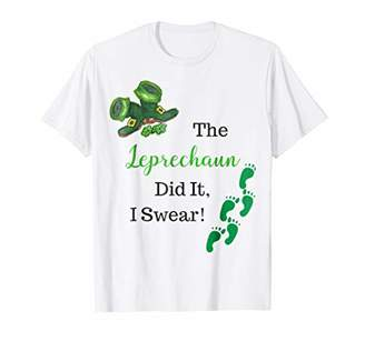 Leprechaun Did It T-shirt