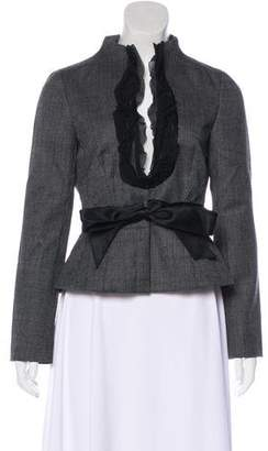 Valentino Virgin Wool-Blend Jacket