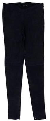Balenciaga Mid-Rise Leather Pants w/ Tags
