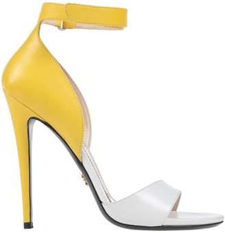 618d0852e7d Prada Two Tone Women s Sandals - ShopStyle