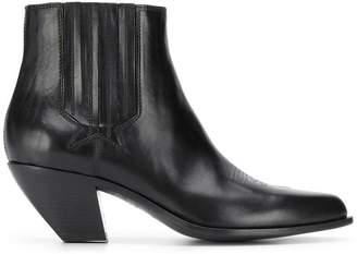 Golden Goose leather ankle booties