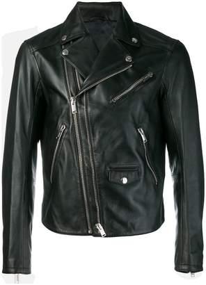 Les Hommes classic biker jacket