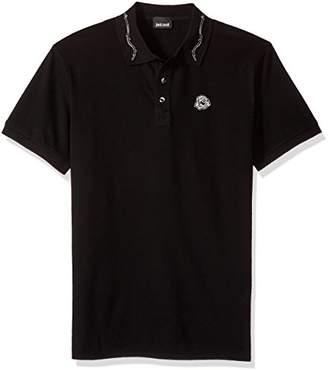 Just Cavalli Men's Basic Polo Tee