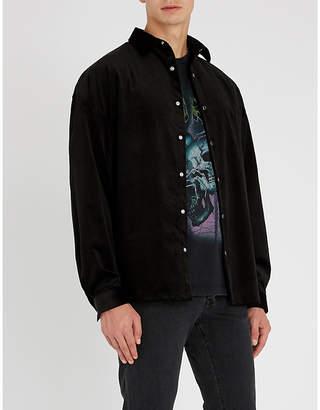 The Kooples Oversized-fit corduroy shirt