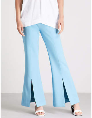 Roland Mouret Danesfield stretch-crepe trousers
