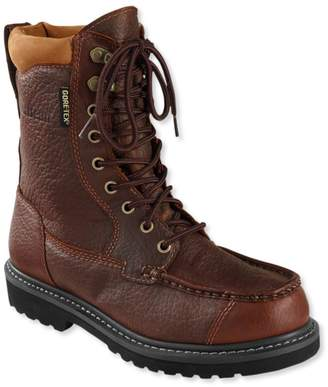 L.L. Bean L.L.Bean Gore-Tex Kangaroo Upland Boots, Moc-Toe Leather Insulated