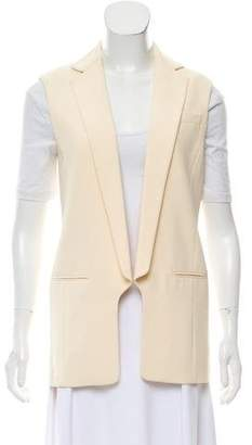 Alexander Wang Notched-Lapel Open-Front Vest
