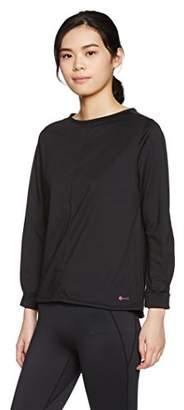 Janestyle (ジェーンスタイル) - (ジェーンスタイル) janestyle フィットネス リラックスクルーネックシャツ JS750 [レディース] JS750 90 ブラック M