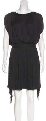 Nina Ricci Pleated Mini Dress