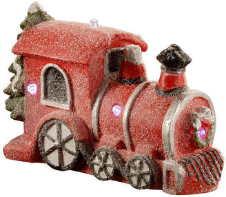"""National Tree 11"""" Train with Battery Operated Led Lights"""