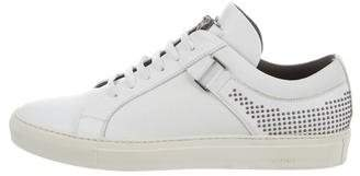 Versace Leather Low-Top Sneakers