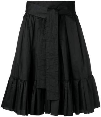 Marc Jacobs flared pleated skirt