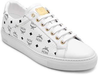 MCM Men's Low Top Sneakers In Visetos
