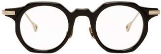 Native Sons Black and Gold Bradbury Glasses