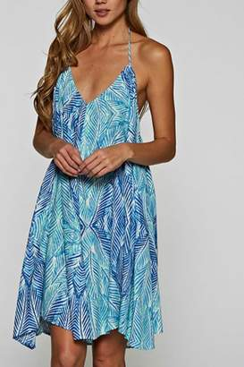 Love Stitch Blue Dress