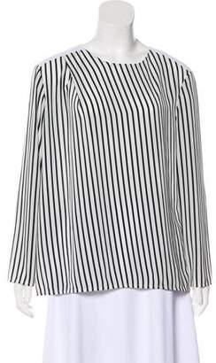 J Brand Striped Long Sleeve Top