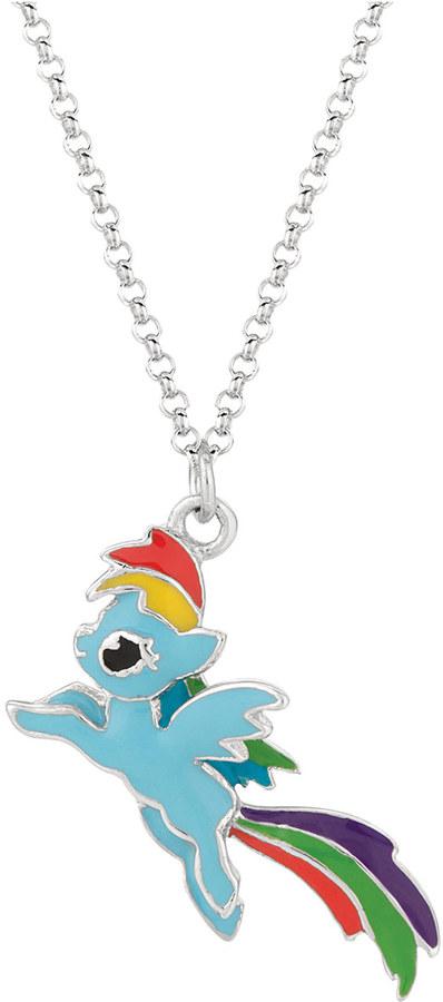 My Little Pony Rainbow Dash Color Block Leap Pendant Necklace
