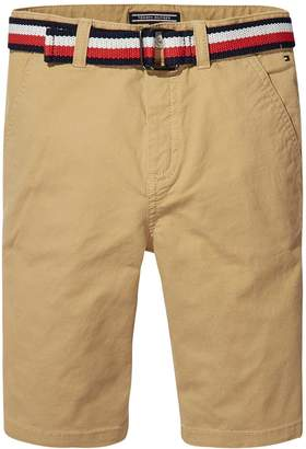 Tommy Hilfiger Boys Classic Belted Chino Short