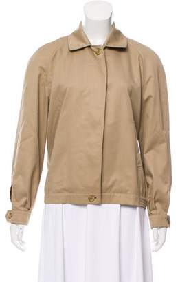 Burberry Tailored Button Front Jacket