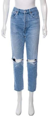 Citizens of Humanity High-Rise Distressed Jeans