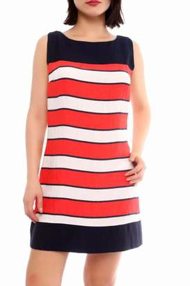 Marvy Fashion Colorblock Mini Dress