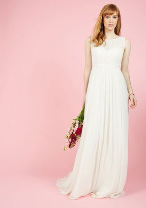 Jenny Yoo Reverie Moment With You Maxi Dress in Ivory in 2 $600 thestylecure.com