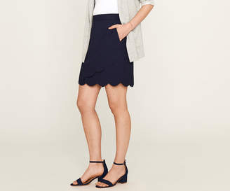 Oasis Scallop Wrap Skirt