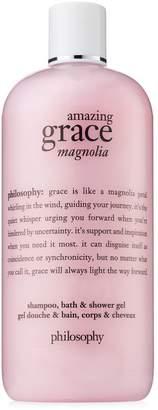 philosophy amazing grace magnolia shampoo, bath shower gel
