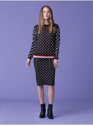 Diane von Furstenberg Hans Pencil Skirt