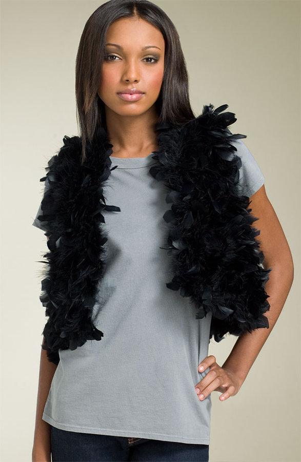 Haute Hippie Marabou Feather Vest