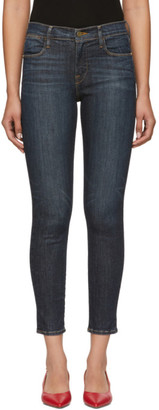 Frame Blue Le High Skinny Jeans