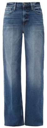 Frame Le California Stretch Cotton Wide Leg Jeans - Womens - Denim