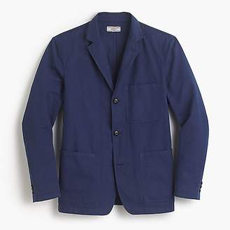 Wallace & Barnes garment-dyed chore blazer