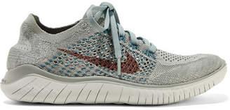 Nike Free Rn Flyknit Sneakers - Mint
