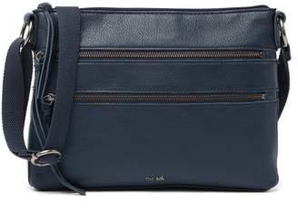 The Sak Reseda Dual Zipper Crossbody Bag