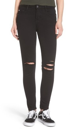 Women's Obey Slasher Ii Ripped Skinny Jeans $79 thestylecure.com