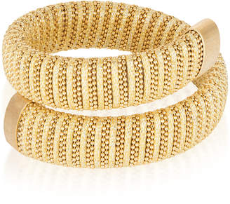 Carolina Bucci Sun Lurex Caro Gold-Plated Bracelet