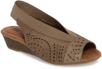 Rockport Cobb Hill Judson Slingback Wedge Sandal
