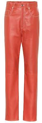 Gucci Leather pants