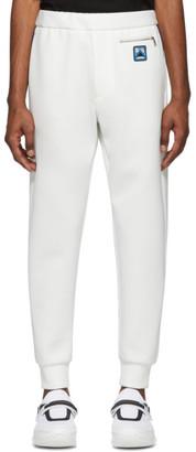 Prada White Techno Jersey Lounge Pants