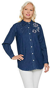 Factory Quacker Anchors Away Woven Button FrontShirt