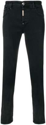 Philipp Plein side stripe skinny jeans