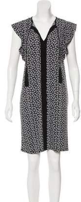 MICHAEL Michael Kors Printed Short Sleeve Mini Dress w/ Tags