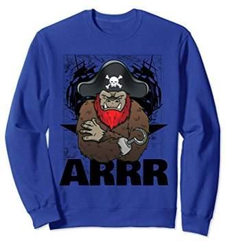 ARRR Pirates Bigfoot Halloween Funny Gift Sweatshirt