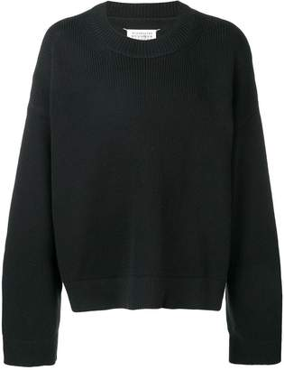Maison Margiela oversized crew neck jumper