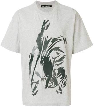 Y/Project Y / Project abstract graphic T-shirt