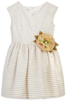 Pippa & Julie Girls' Striped Dress - Little Kid $68 thestylecure.com
