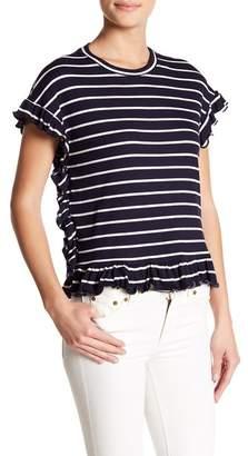 Romeo & Juliet Couture Short Sleeve Stripe Tee