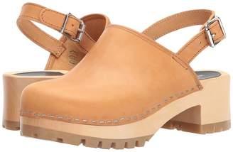 Swedish Hasbeens Jill Women's Clog/Mule Shoes
