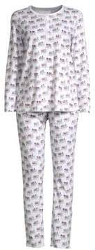 Roller Rabbit Party Animal Pajama Set